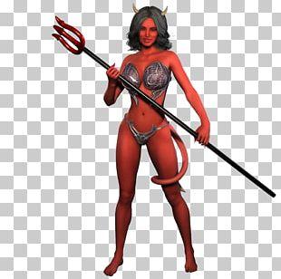 Lucifer Devil Woman Demon Satan PNG