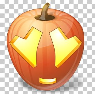 Halloween Jack-o-lantern Pumpkin Emoticon Icon PNG