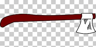 Hatchet Splitting Maul Line PNG