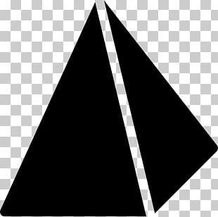 Triangle Pyramid Point Geometry Shape PNG