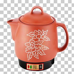 Kettle Ceramic Simmering Coffee Cup Clay Pot Cooking PNG