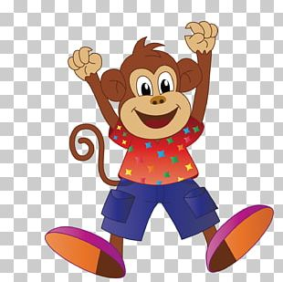 Orangutan Monkey Cartoon PNG
