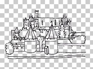 Malbork Castle Colouring Pages Coloring Book PNG