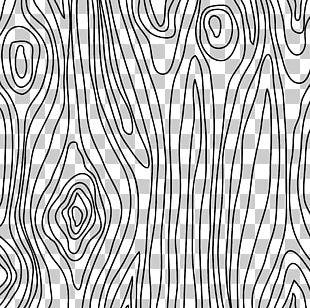 Paper Wood Grain Drawing Pattern PNG