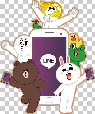 Line Friends Sticker Messaging Apps Naver Japan PNG