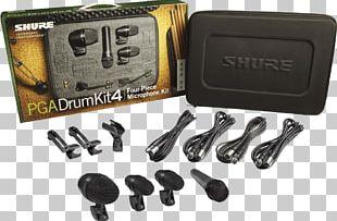 Microphone Shure PGA Drumkit 4 Bass Drums PNG