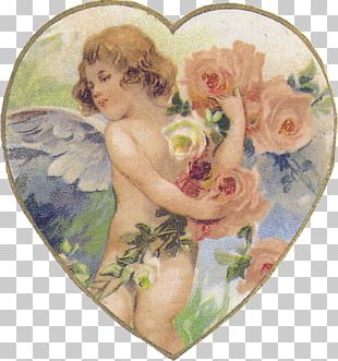 Valentine's Day Decoupage Love Scrapbooking Vinegar Valentines PNG