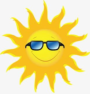 Cool Sun PNG