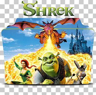 Princess Fiona Donkey Shrek Film Poster PNG
