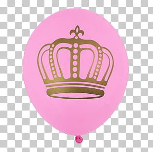 Toy Balloon Crown Coroa Real Party PNG