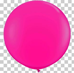 Toy Balloon Paper Party Pink Birthday PNG