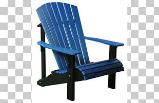 Adirondack Mountains Adirondack Chair Plastic Lumber Deckchair PNG