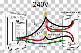 Wiring Diagram Thermostat Electrical Wires & Cable PNG