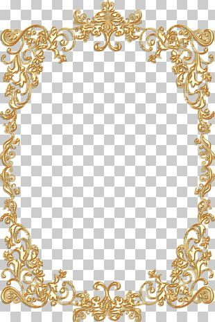 Borders And Frames Frames Gold Vintage PNG