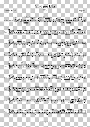 Sheet Music My Chemical Romance Flute Violin PNG