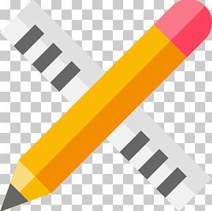 Ruler Pencil Carpenter Tool PNG