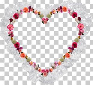 Heart Valentine's Day Frames Love Garden Roses PNG