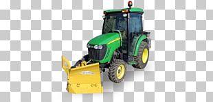 Tractor Snowplow Machine Snow Removal Sidewalk PNG