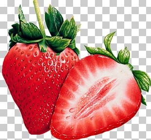 Open Strawberries PNG