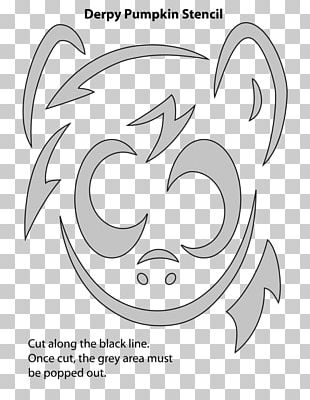 Pony Stencil Png Clipart Airbrush Animal Art Black And White Camouflage Free Png Download