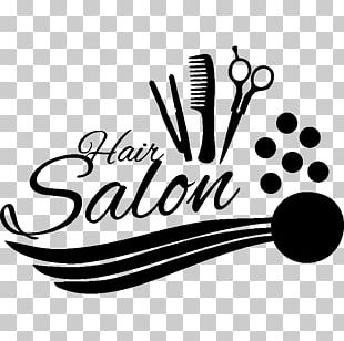 Hairstyle Beauty Parlour Hair Care Hairdresser Wall Decal PNG