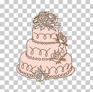 Wedding Cake Torte Marriage PNG