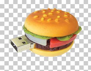 Hamburger USB Stick PNG
