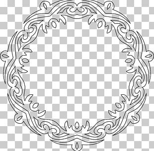 Borders And Frames Line Art PNG