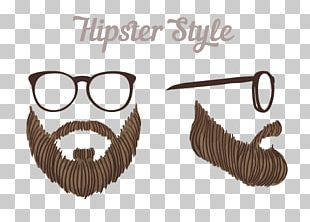 Glasses Beard Hipster Euclidean PNG