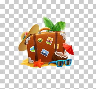 Travel Suitcase Vacation Icon PNG