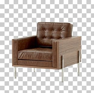 Club Chair Sofa Bed Couch Armrest Comfort PNG