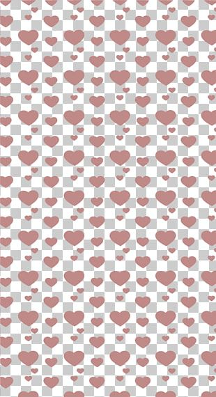 Valentine's Heart-shaped Decorative PNG