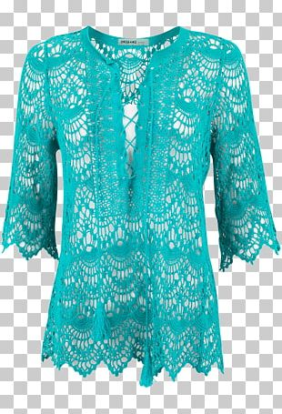 Blouse Sleeve Dress Outerwear Neck PNG