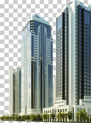 Commercial Building Grozny High-rise Building Facade PNG