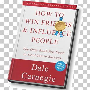 How To Win Friends And Influence People In The Digital Age Book Friendship Information Age PNG