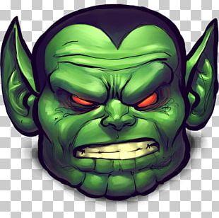 Head Supernatural Creature Demon Face Illustration PNG