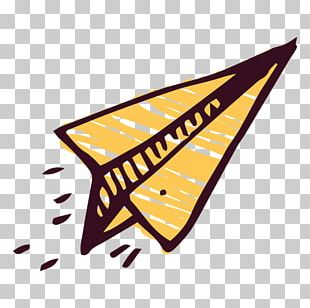 Paper Plane Airplane Drawing PNG