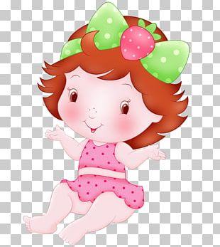 Strawberry Shortcake Infant Doll PNG