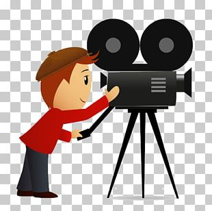 Camera Operator Film Cartoon Photography PNG