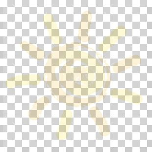 Yellow White Pattern PNG