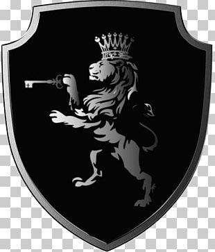 Lion Logo Shield Symbol PNG