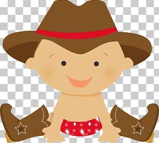 Cowboy Infant PNG