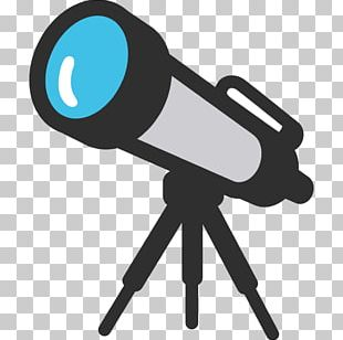 Emoji Telescope Miscellaneous Symbols And Pictographs PNG