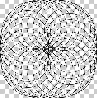 Sacred Geometry Fractal Mathematics Circle PNG
