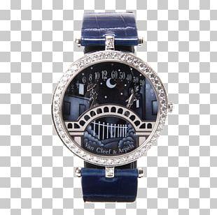 Watch Strap Van Cleef & Arpels Watch Strap Clock PNG