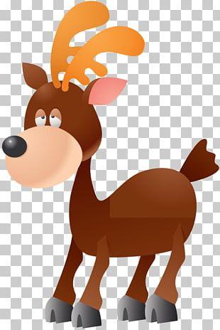 Reindeer Rudolph Moose PNG