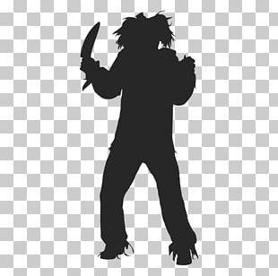 Halloween Costume Silhouette Mask PNG