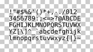 Ascii Character PNG Images, Ascii Character Clipart Free