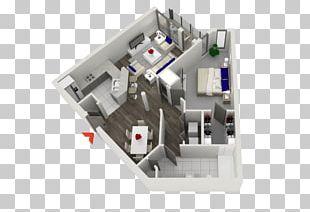 Studio Apartment House Plan Floor Plan PNG