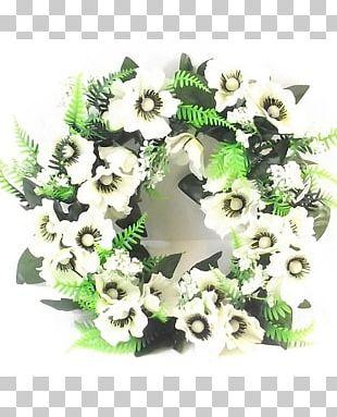 Wreath Flower Bouquet Floral Design Artificial Flower PNG